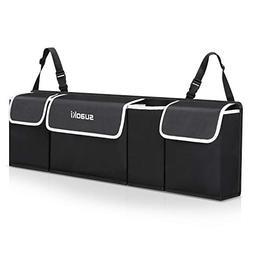 SUAOKI Backseat Car Trunk Organizer Foldable Cargo Storage B