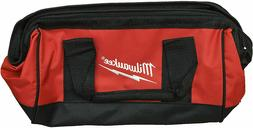 "Milwaukee Bag 13"" x 6"" x 8"" inch Heavy Duty Canvas Tool Bag"