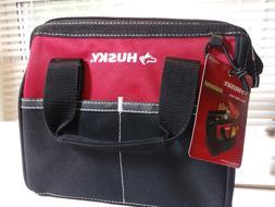 "Husky 10"" Tool Bag 4 Pockets 600 Denier Water Resistant Mate"