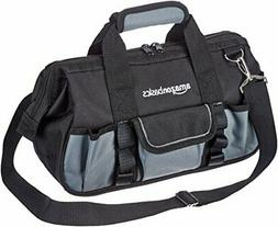 12 Inch Basics Durable Wear Resistant Base Tool Bag with Str