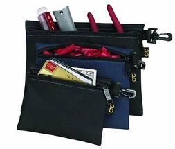 Tool Bag Custom Leathercraft 1100 Multi-Purpose Clip-On Zipp