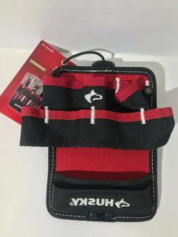 HUSKY Tool Bag 5 in. Driver Wall Pouch Belt Clip Screwdriver
