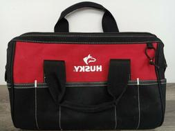 Husky 15 Inch Tool Bag Storage HeavyDuty Organizer Electrici