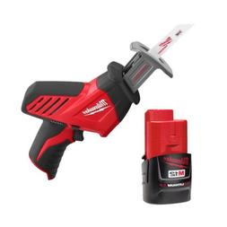 Milwaukee M12 12-Volt Hackzall Recip Saw