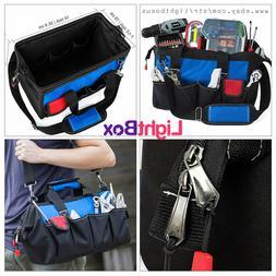 Tool Bag Storage Pouch Organizer Zipper Portable Electrician