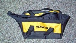DeWALT BLACK AND YELLOW  NYLON TOOL BAG FROM 20 VOLT DCD777C
