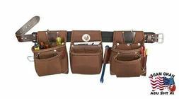 Occidental Leather 8385XL Extra Large Black Belt Rough Frame