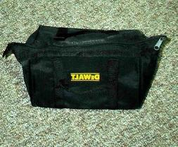 DeWALT BLACK NYLON TOOL BAG FROM 18 VOLT DC970K-2 KIT 9-1/2