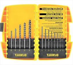 DEWALT 13 Piece Black Oxide Drill Bit Set - DW1163