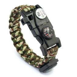 Braided bracelet men's multi-purpose survival outdoor emerge
