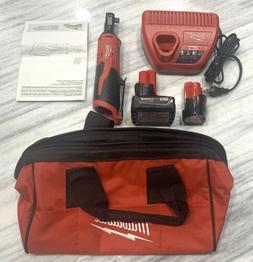 Brandnew Milwaukee 2457-20 M12 3/8 Ratchet Kit  Batteries Ch