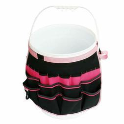 Bucket Gardening Organizer Tool Holder Tote Bag 5 Gallon Fit