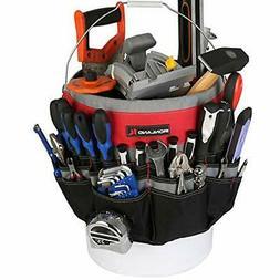 IRONLAND Bucket Tool Bag Organizer with 51 Pockets BT-001