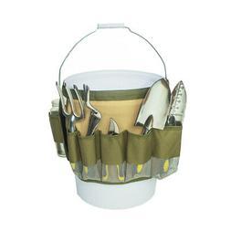 Bucket Tool Organizer Gardening Tools Holder Tote Bag Storag