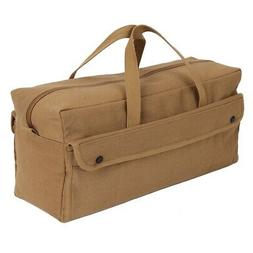 Rothco Canvas Jumbo Mechanic Tool Bag, Coyote Brown