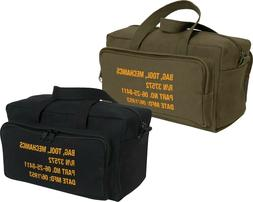 canvas mechanics tool bag military stamped heavy