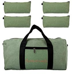 18 Inches Canvas Tool Bag With Free 4 Tool Zippered pouches