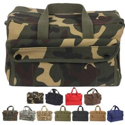 Canvas Tool Bag Heavy Duty Carry Tote Storage Work Utility M