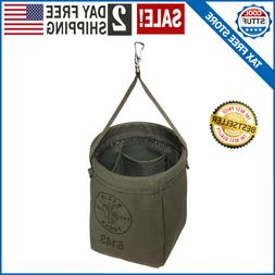 canvas tool bag storage organizer bucket hanging