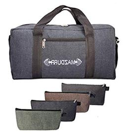 Canvas Tool Bag18 inches Heavy-Duty | Free Bonus: 4 Large To