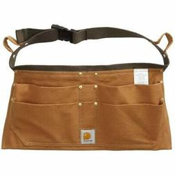 Carhartt Men'S Duck Nail Apron Brown Medium Bags Belts Pouch