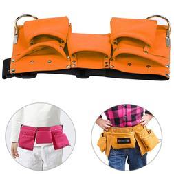 Carpenter Builders Multi Pocket Tool Belt Storage Pouch Tool