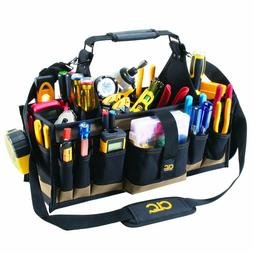 "CLC 1530 Open Top Tool Bag 23"" Tote Heavy Duty Work Utility"