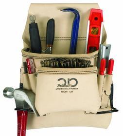 Clc Custom Leathercraft 178234 8 Pocket Carpenter`s Anvil &