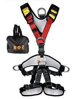 YXGOOD Climbing Harness,Full Body Safety Harness Safe Seat B
