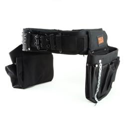 Klein Tools Contractor Nylon Electricians Tool Belt Bag Blac