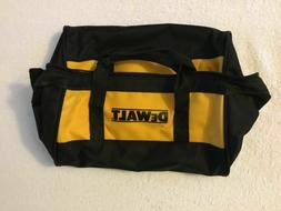 DEWALT CONTRACTOR TOOL BAG  DUTY 11X9X7 BLACK YELLOW HEAVY D