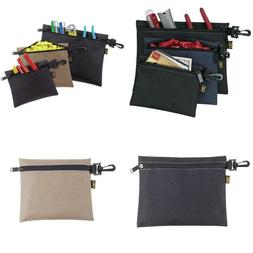 Custom Leathercraft 1100 3 Multipurpose Clip On Zippered Bag