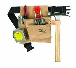 Custom Leathercraft 3 Pocket Nail and Tool Bag with Polyweb