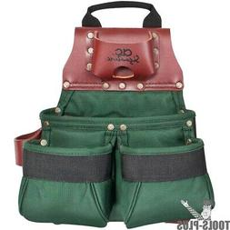 Custom Leathercraft 51838 10 Pocket Ballistic Nylon Nail & T