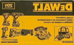 DEWALT DCK520D1M1 20V MAX XR CORDLESS 5-TOOL COMBO KIT 2Ah &