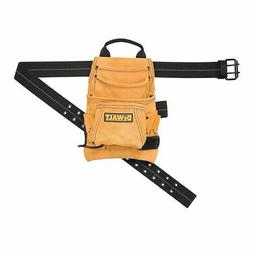 DEWALT DG5433 10-Pocket Carpenter's Top Grain Leather Nail &