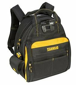DEWALT DGL523 Lighted Tool Backpack Bag 57-Pockets