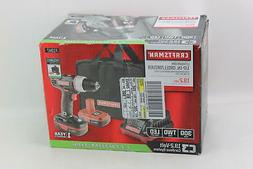 Craftsman 19.2 Volt Drill Driver with 2 Lithium-ion Batterie