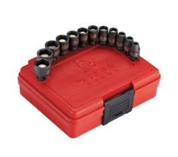 Sunex 1822, 1/4 Inch Drive Magnetic Impact Socket Set, 12-Pi