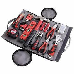 DT4945 Tool Sets Household Kit In Roll-Up Zippered Bag, Incl