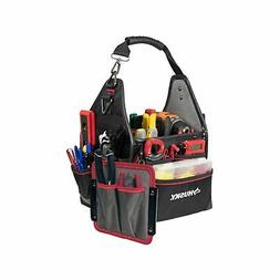 Husky 10 in. Electrician Bag Driver Wall Shoulder Strap Tool