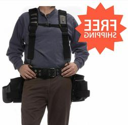 Electrician Polyester Tool Rig Pouch Belt Construction Bag