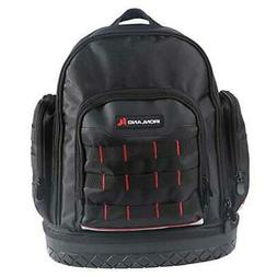 Electrician Tool Bag Backpack with Waterproof Molded Base