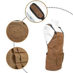 Electrician Tool  Bag Pouch Mechanic Vest Carpenter Apron 9