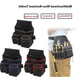 Electrician Tool Bags Waist Pocket Belt Bag Holder Kit Screw