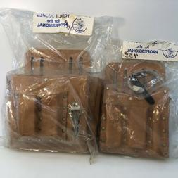 KLEIN TOOLS Electricians Tool Pouches! 5165, 5190 Bags Leath