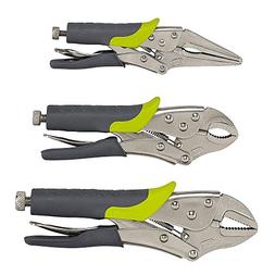 Craftsman Evolv 3 Piece Locking Pliers Set, 9-10061