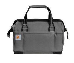 "Carhartt Foundry Series 14"" Tool Bag Tool Kit - Grey - NEW"