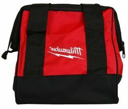 "Milwaukee M12 11"" Heavy Duty Contractors Tool Bag 11"" x 10"""