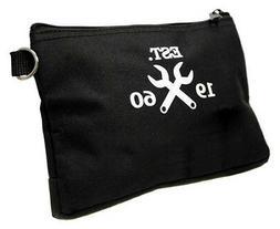 """Westward 12"""" General Purpose Tool Bag, Black, 32PJ42"""